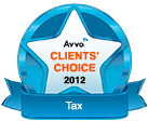 Avvo Clients' Choice 2012 - Tax Badge